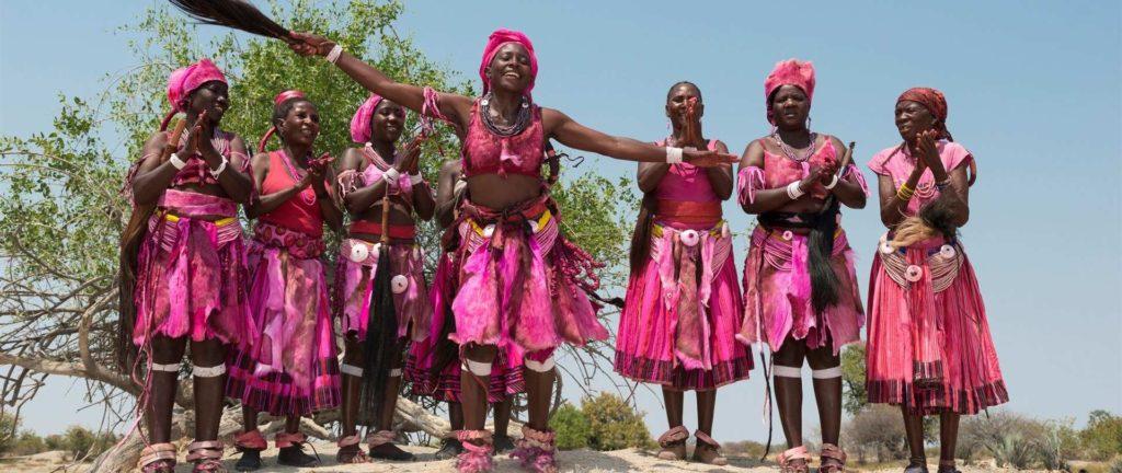 Hovambo women from Namibia
