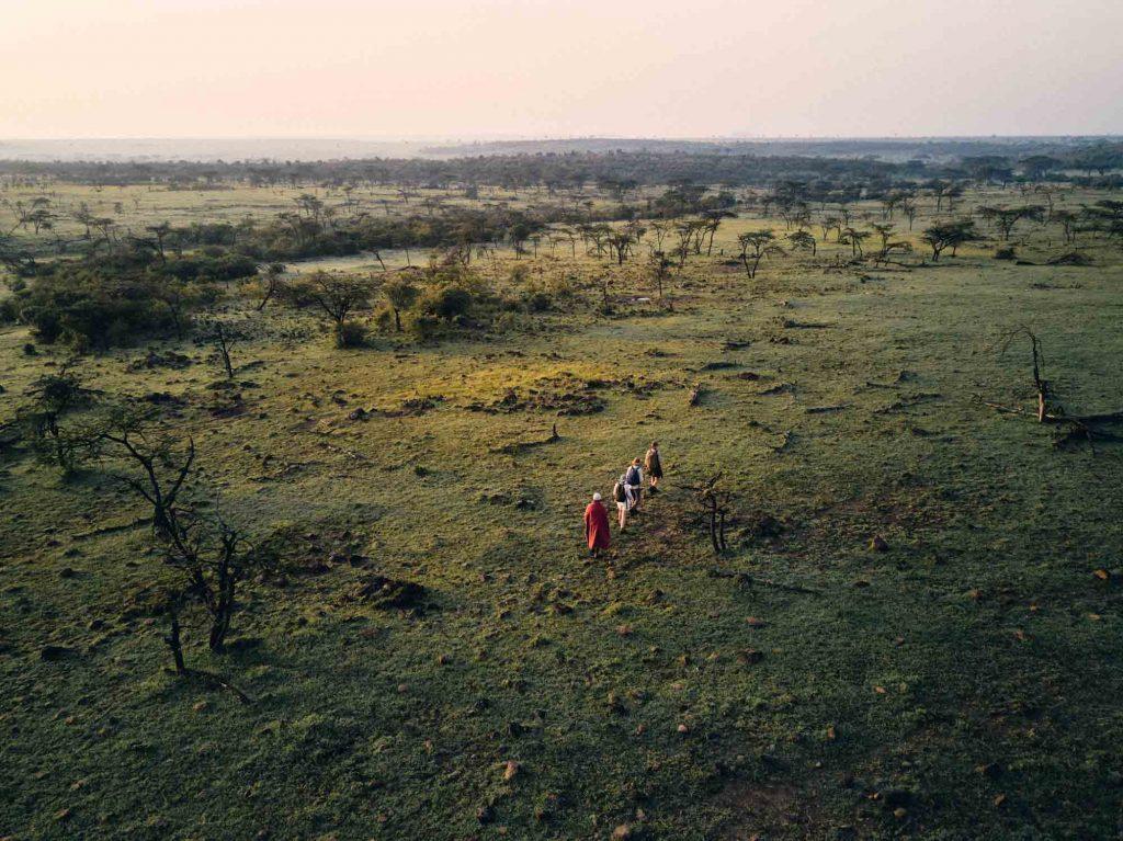 Mara Conservancies walking safari Asilia