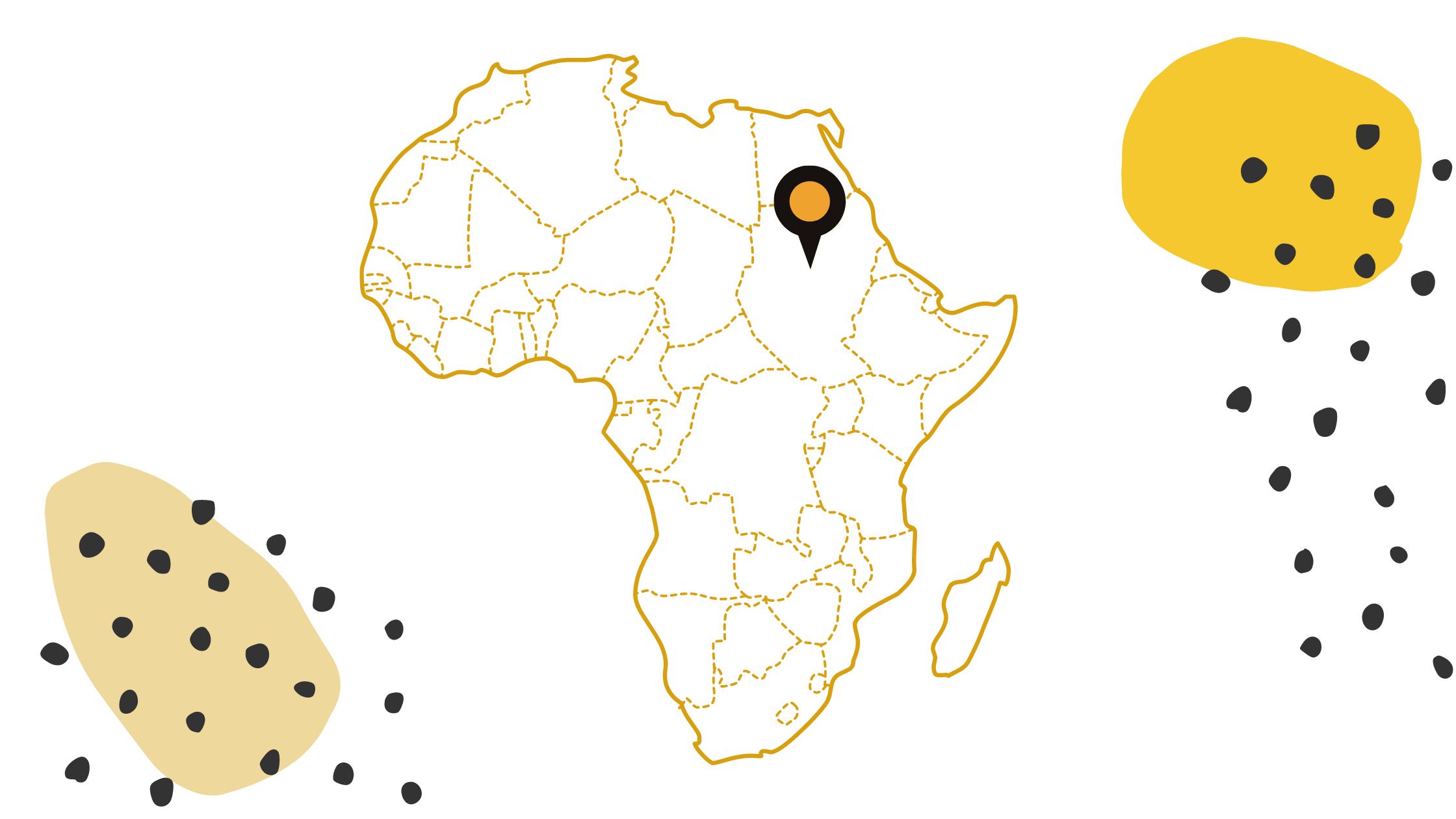 North Sudan Map