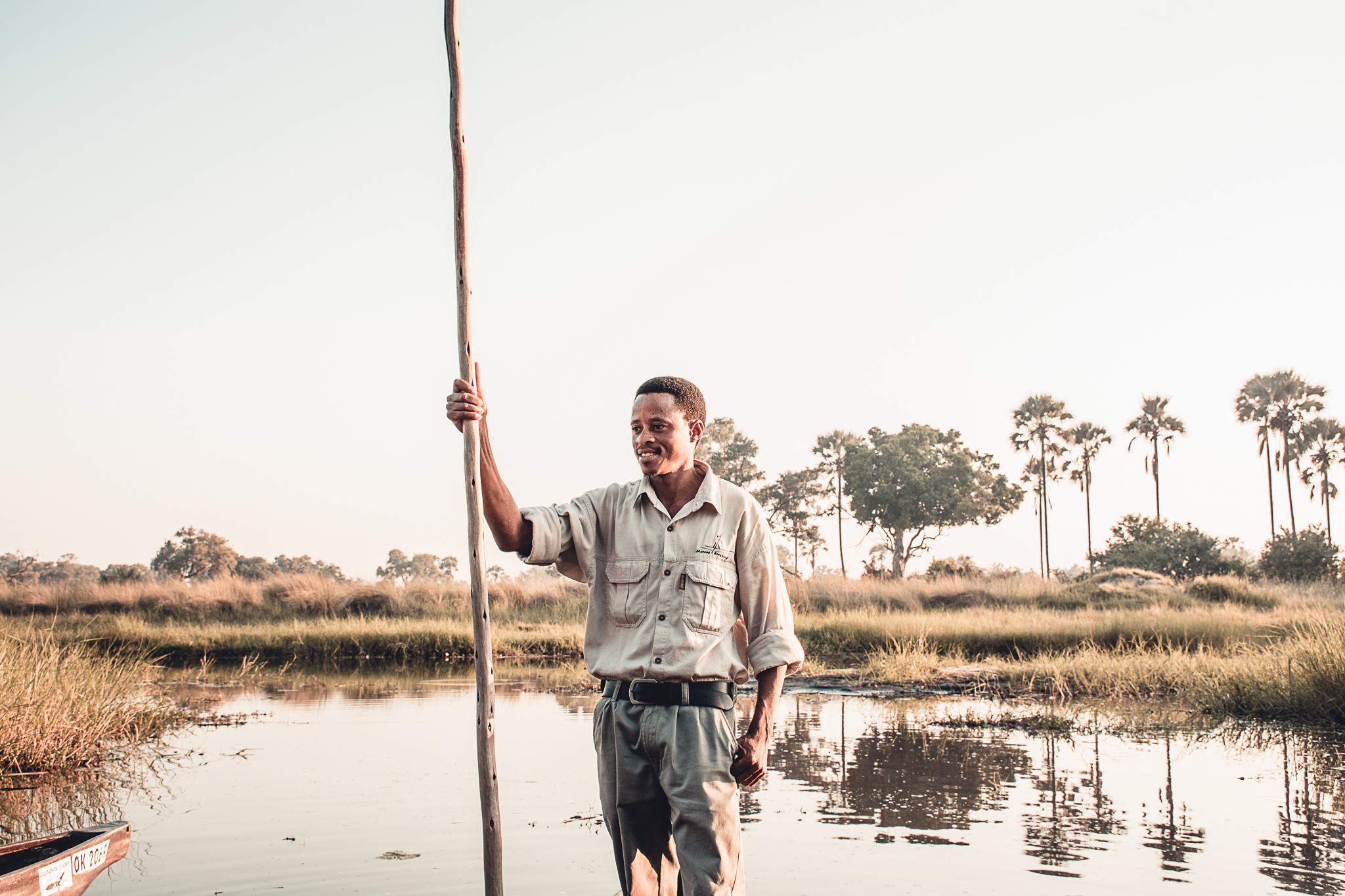 Botswana Mokoro Ride