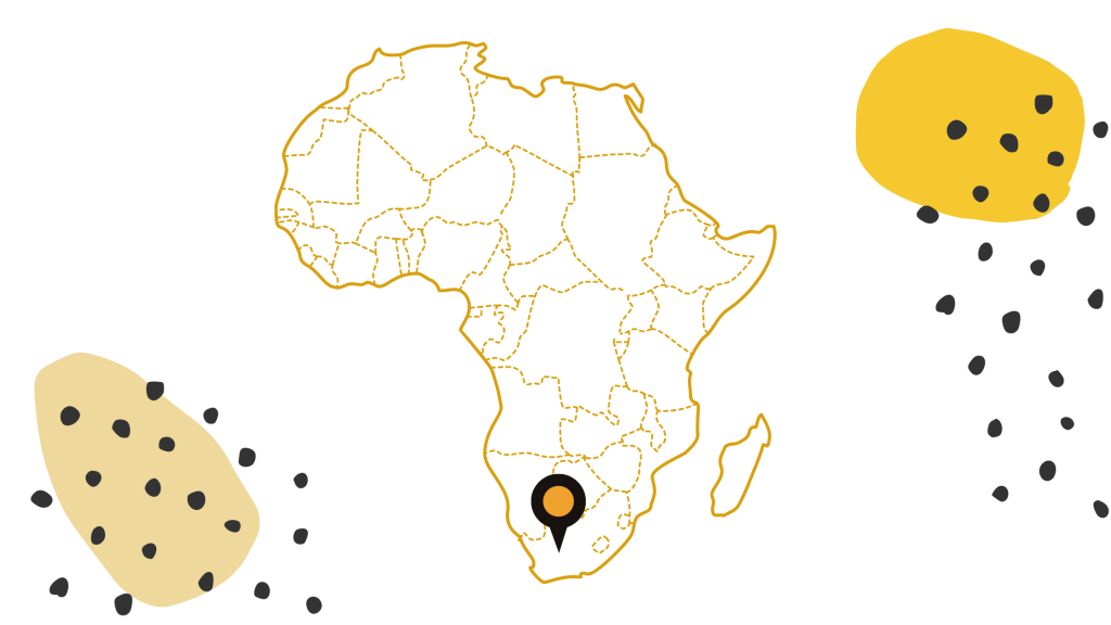 South Africa Karoo Map