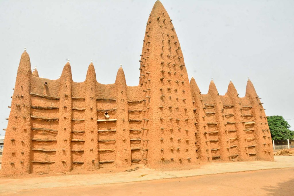 Sudanese style mosques